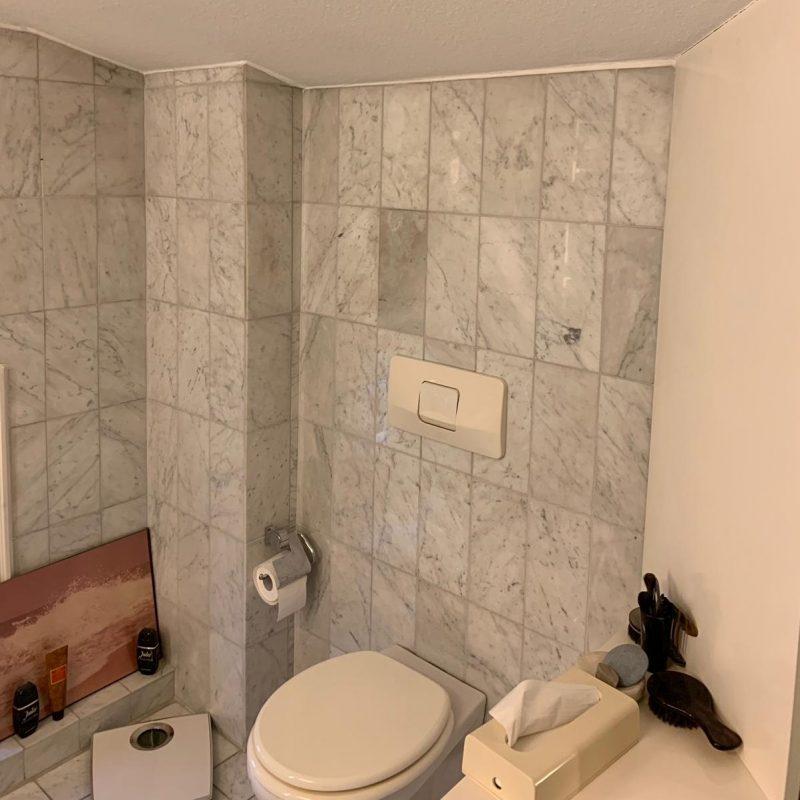 Referenz - Altersgerechtes Badezimmer mit Stil in Blankenese -01- vorher