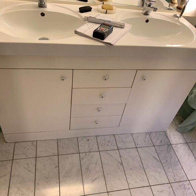 Referenz - Altersgerechtes Badezimmer mit Stil in Blankenese -03- vorher