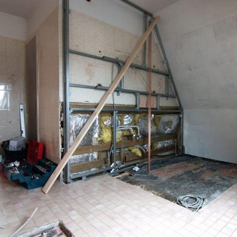 Referenz - Dachgeschoss-Badezimmer in Hamburg Wentorf -02- vorher