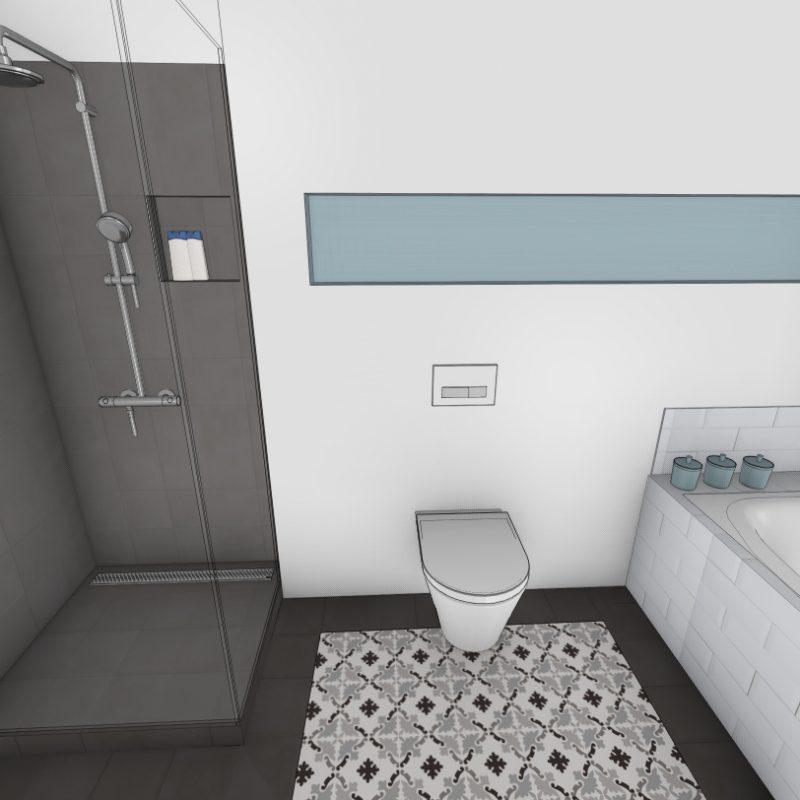 Referenz - Ein Bad im Hamburger Osten im Stil der Jahrhundertwende -03- vorher