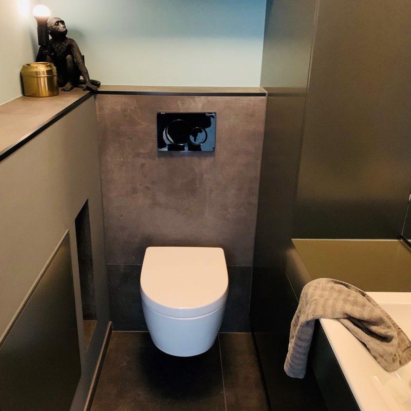 Referenz - Gäste-WC im Boho-Style in Hamburg Mundsburg -02- nachher