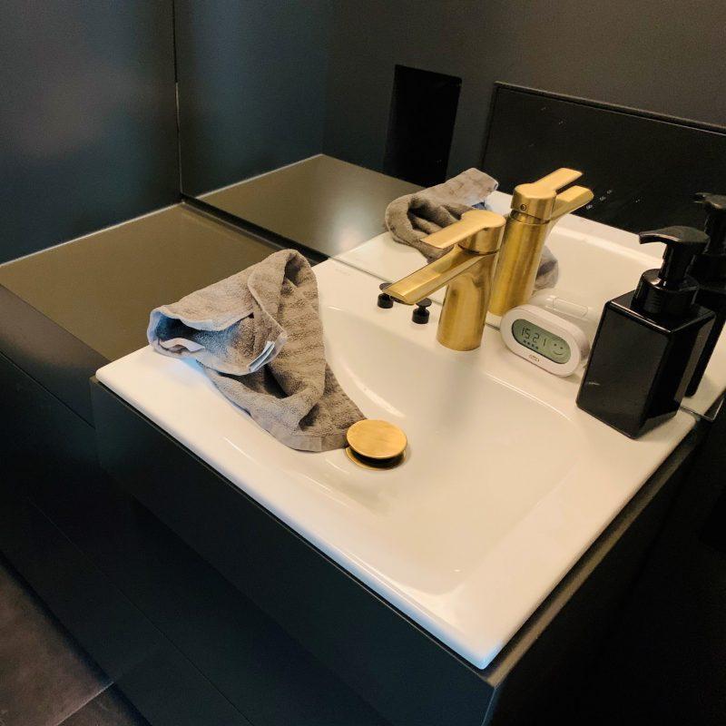 Referenz - Gäste-WC im Boho-Style in Hamburg Mundsburg -03- vorher