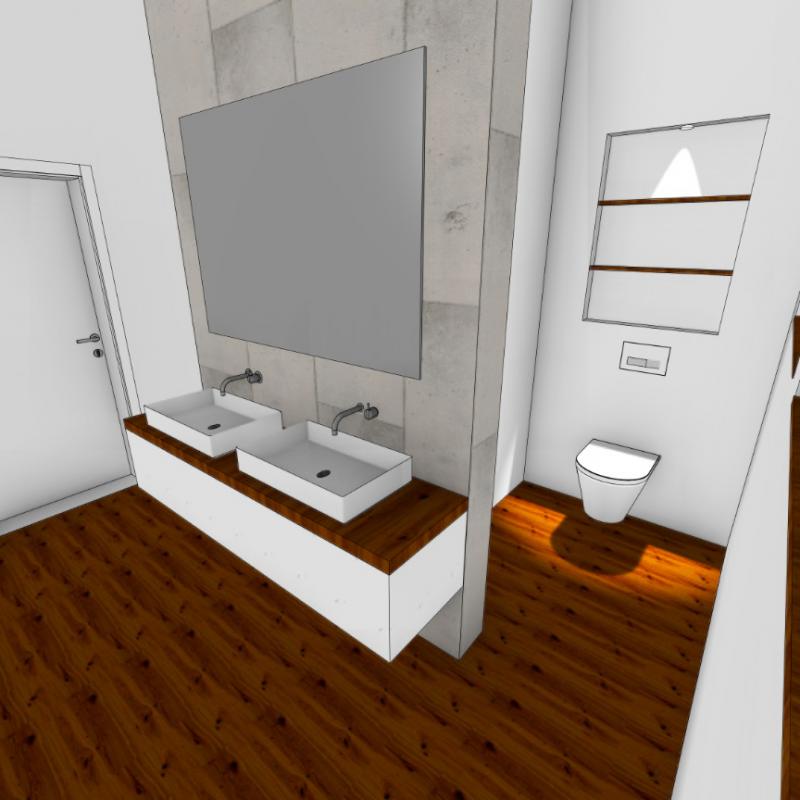 Referenz - Wie In Bergedorf aus einem Schlafzimmer ein Badezimmer wurde -02- vorher