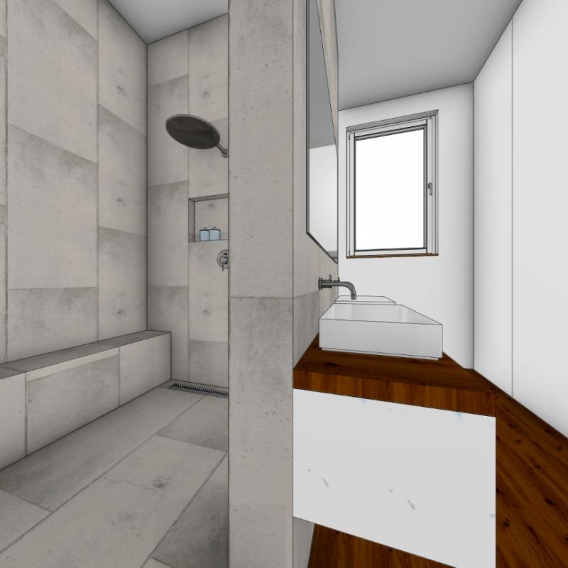 Referenz - Wie In Bergedorf aus einem Schlafzimmer ein Badezimmer wurde -03- vorher